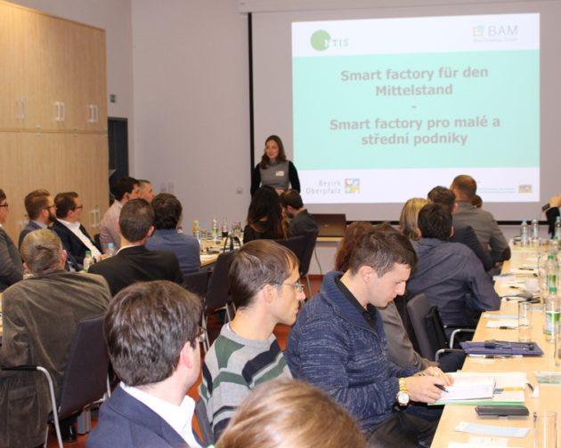Begrüßung der Teilnehmer, Lucie Valentová