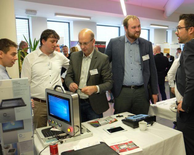 Forschungsmitarbeiter der Westböhmischen Universität knüpfen Kontakte zu bayerischen Herstellern.